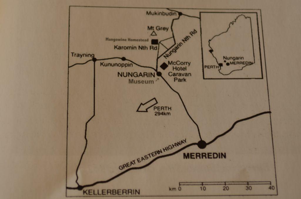 Nungarin Map